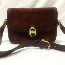 Rare Authentic OLD CELINE Vintage Shoulder Bag Horse Carriages Leather