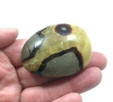 "SEPTARIAN Pebble 74g  Polished Natural Septerye Galet Stone 2.24"" (5.7cm)  S0215"