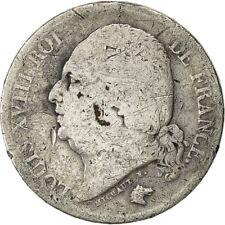 [#490971] France, Louis XVIII, 2 Francs, 1822, Lille, B, Argent, KM:710.12