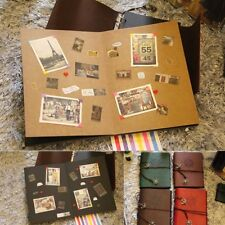 Vintage Photo Album Our Adventure Book Memory DIY Anniversary Scrapbook Brown