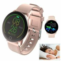 Damen Smartwatch Fitness Tracker Pulsuhr Armband Sportuhr für iPhone Android