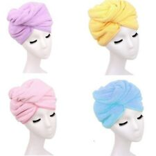Bamboo Cap Bath Hat Towel Spa Salon Dryer Quick Dry Towel Magic Home Hair Drying