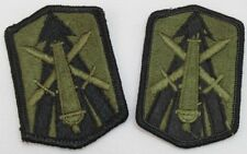 US Army 214th Field Artillery Brigade Patch subdued Lot of two P5064
