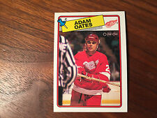 1988-89 O-Pee-Chee #161 Adam Oates - NM++ TO  MINT / SLIGHTLY OFF CENTER