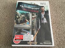 WII DEAD RISING CHOP TILL YOU DROP ~GENUINE AUS PAL VERSION~ COMPLETE ~WII/WII U