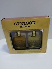 STETSON ORIGINAL by Coty 2 PIECE GIFT SET - 2.0 OZ COLLECTOR'S EDITION COLOGNE
