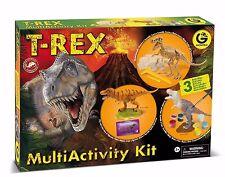 T-REX MultiActivity Kit by Geoworld! Hours of Fun! Dinosaur models. BRAND NEW!!