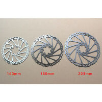 Cycling Bicycle MTB Bike Brake Disc Rotor 120mm/140mm/160mm/180mm/203mm & Bolts