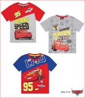 Disney Cars T-Shirt kurzarm Jungen Sommer Rot Grau Blau 98 104 110 116 128 NEU