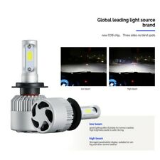 2x COB H7 160W 16000LM LED Headlight Kit Hi/Lo Power 6500K Bulbs Kit