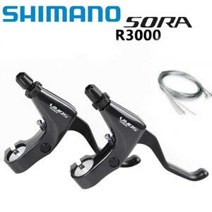 SHIMANO SORA BL-R3000 Road Bike Brake Lever Left & Right Flat Bar 3500 Upgraded