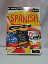 Teaching-you Spanish 4 CD Set PC CD-ROM Boxset. Holiday Phrases,  Oxford