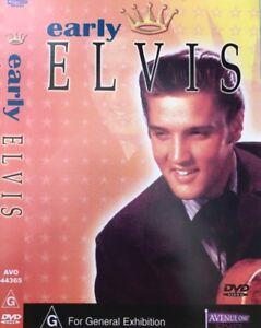 ELVIS PRESLEY: EARLY ELVIS DVD New