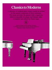 Classics To Moderns 6 Learn to Play Christmas Present Gift MUSIC BOOK Piano