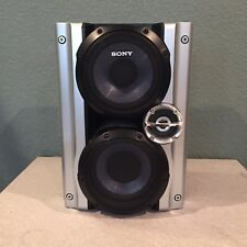 Single Sony SS-RG444 3 Way Speaker Stereo Bookshelf Tested Sounds Great