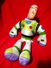 "Toy Story BUZZ LIGHTYEAR Stuffed Plush Vinyl Face 18"""