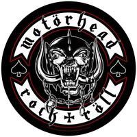 OFFICIAL LICENSED - MOTORHEAD - BIKER BACK PATCH HEAVY METAL LEMMY