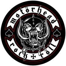 More details for official licensed - motorhead - biker back patch heavy metal lemmy