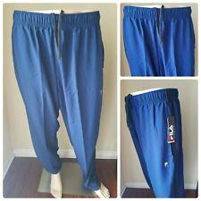 Fila Sport TruDry Navy Bay Blue Woven Running Pants Joggers Sweatpants Track Xxl