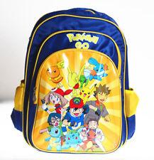 """16""""  Pikachu Boys Girls Children Back To School Backpack Bag Rucksack Shoulder"""