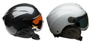 Icaro Nerv Paragliding, Hang Gliding & SpeedRiding Helmet in Carbon Colors