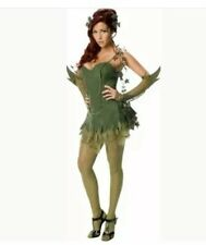 Rubie's Secret Wishes Poison Ivy adult female costume Small Dress Size 2-6 Green