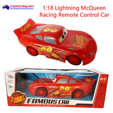 Cars Lightning McQueen Racing Remote Control Car