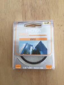 Hoya 52 mm UVC Digital HMC Screw In Filter.                               g