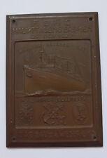 Kühler Autoplakette --ADAC Haupttagung  in Bremen 1927--