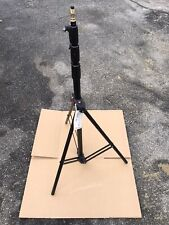 Manfrotto 1004BAC Tripod Master AC Black Max 12ft Tripode Lamp Stand Stand