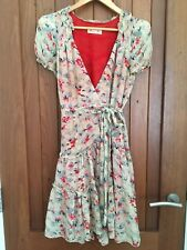 Alannah Hill  women's silk wrap dress size 12