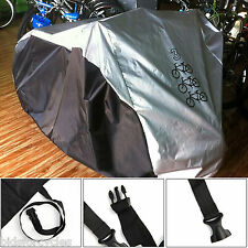 Bicycle Cycle Scooter Nylon Waterproof Triple 3 Bike Rain Dust Cover Protector