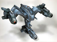 StarCraft Terran Human Space Superiority Starfighter Wraith Paper Model 13cm=5""