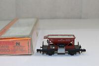 n2941, Arnold 4680 Schotterwagen der DB BOX Spur N TOP