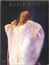 DVD MARIA RITA - REDESCOBRIR [RARE BRAZILIAN DVD] ELIS REGINA TRIBUTE