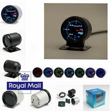 52mm Turbo Boost Gauge 7 Color Car Turbo Boost Gauge Meter W/ Sensor ( UK Stock)