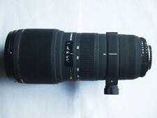 NIKON FIT SIGMA APO 100-300 mm f4 EX DG Lens + CAPS + CASE + HOOD 100 - 300MM