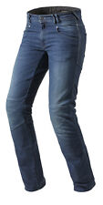 JEANS MOTO CORONA MEDIUM BLUE REV'IT  TG 32