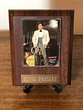 Elvis Presley ~ Movies ~ Card On Wooden Plaque