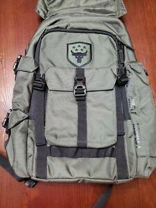 Under Armour UA Project Rock Regiment Backpack Bag Dark Green 1315435 330