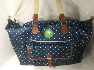 Lily Bloom Polka Dot Fiona Weekender Travel Carry-on Bag