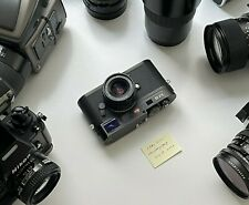 Leica M8 10.3 MP Digital Rangefinder Camera - Black with Extras, Low Shutter