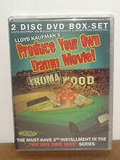 Produce Your Own Damn Movie! (DVD) 2-Disc Set! TROMA TEAM VIDEO DVD! BRAND NEW!