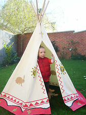 Childrens Desert Print Wigwam/Teepee.  Kids Indoor and Outdoor Play Tent