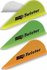 "NAP New Archery Products 2"" Twister Vanes, Yellow, 36pk"