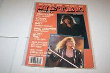 9/1987 CREEM CLOSE-UP magazine WHITESNAKE QUIET RIOT