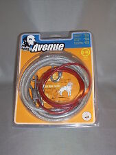 Dog It Avenue Cable Loop Run Line S-XL 1.6 M