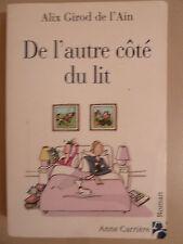 De l'autre cote du lit Alix Girod de l'Ain Anne Carriere