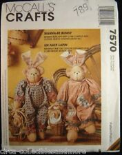 Wanna Be Bear Baby Bunny Ears Clothing McCall's Sewing Pattern 7570 Uncut