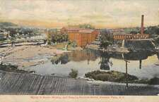 Hoosick Falls New York Mowing and Reaping Machine Works Postcard J57287